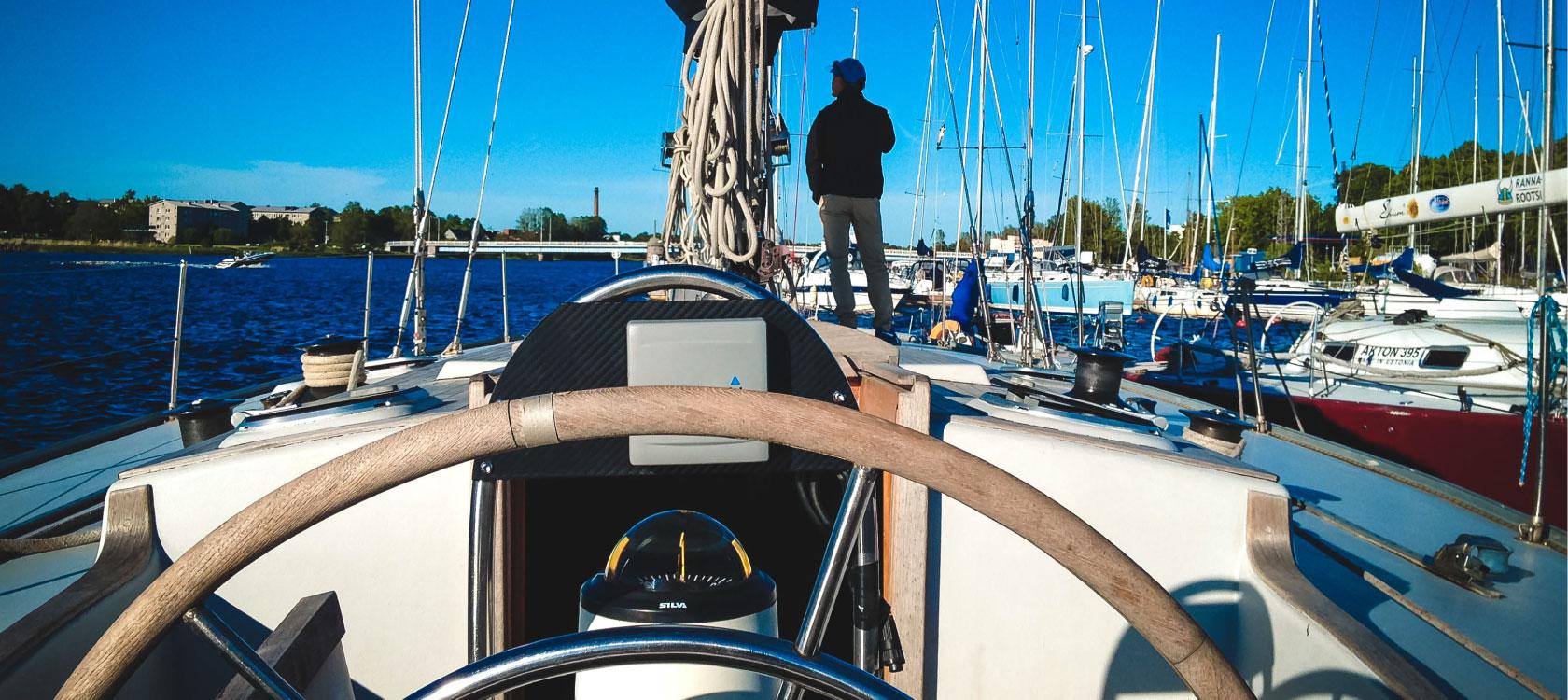 sailing boat yacht trip tallinn